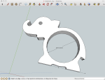 elephant in SketchUp