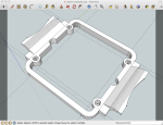 watch piece in sketchup
