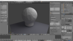 ball finial rendered
