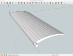 Vent fin in SketchUp