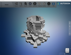 Main interface of Project Miller from Autodesk Labs.